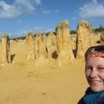 Über die Pinnacles nach Geraldton: Immer scheppert irgendwas.