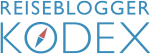 Reiseblogger Kodex Blau Transparent 300px