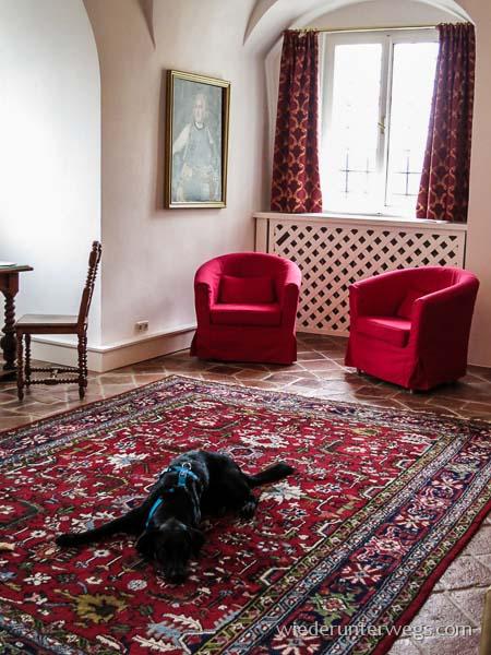 Suite im Schlosshotel Mailberg