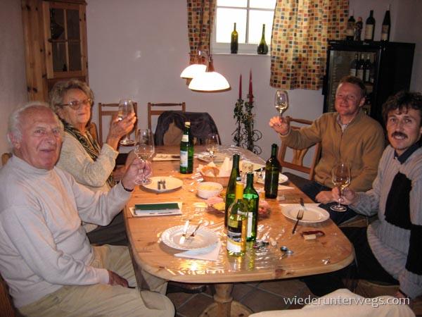 Weinholen beim Hubert Fürnkranz