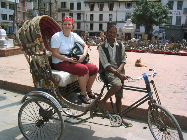 tuktuk kathmandu nepal