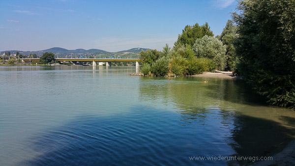 Badestrand hundezone Donauinsel