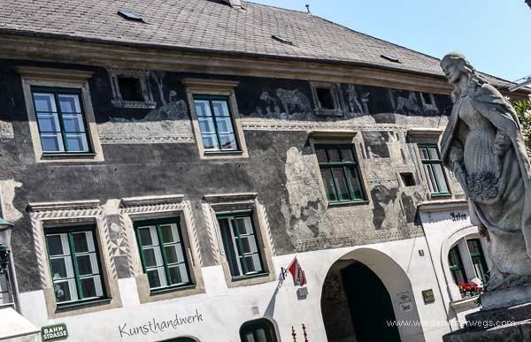 Sgraffito Haus Langenlois im Kamptal