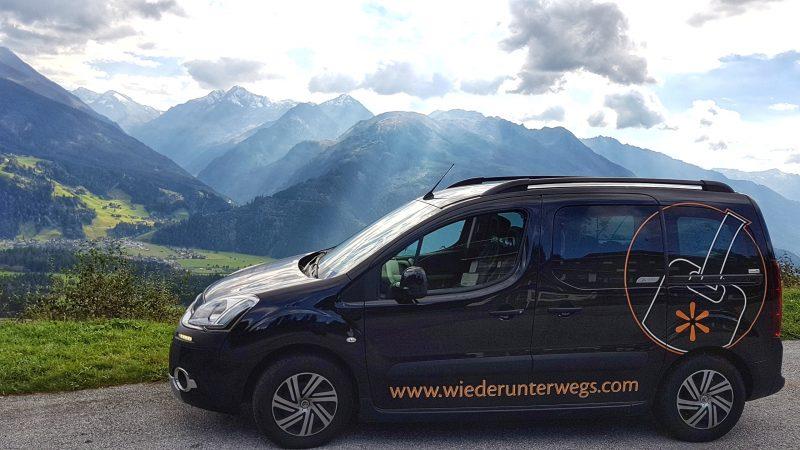 reisebloggerin unterwegs in österreich - auto