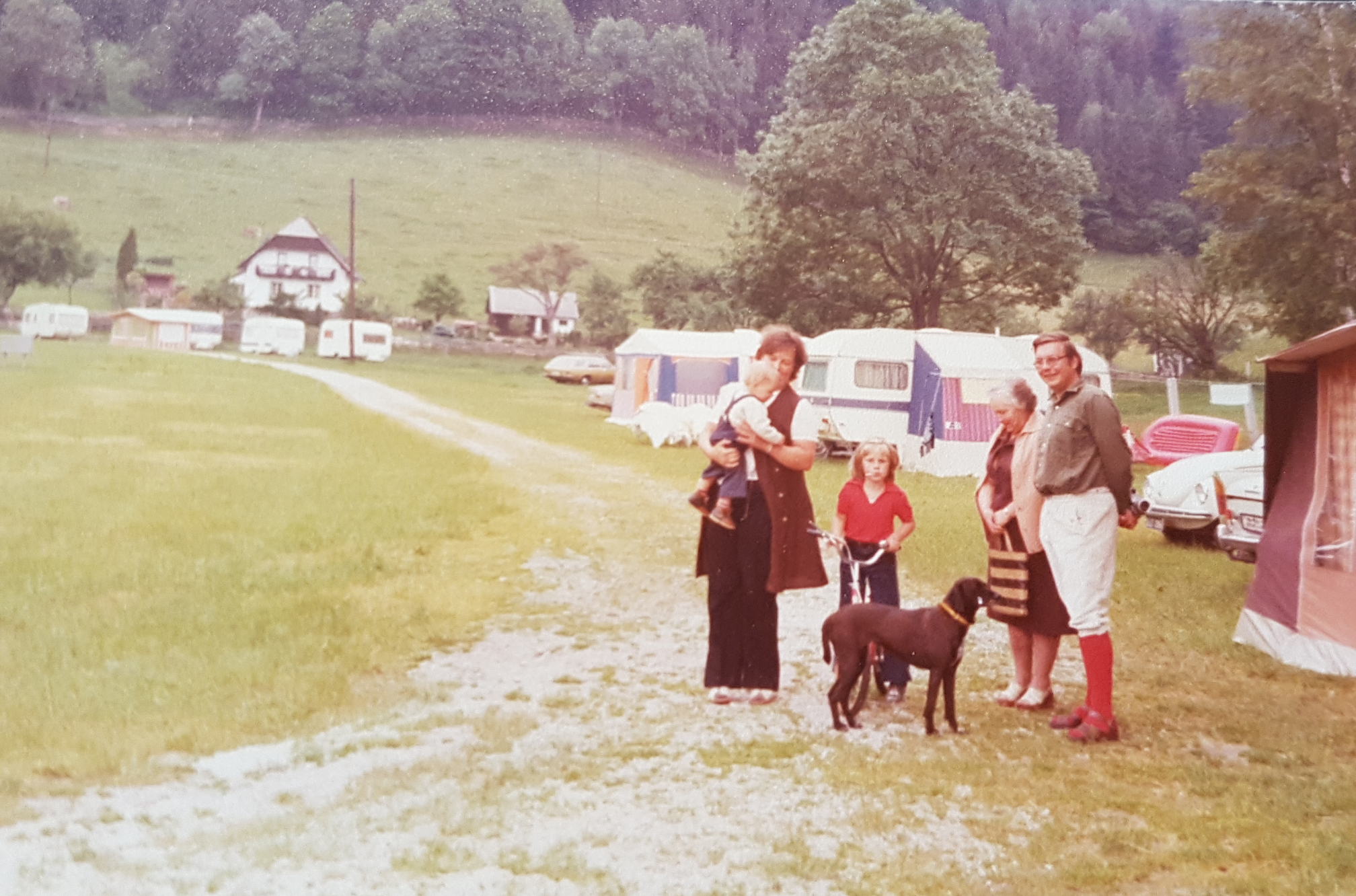 camping am putterersee 1977