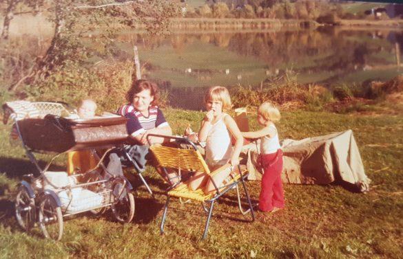 Kinder am Putterersee Siebziger Jahre