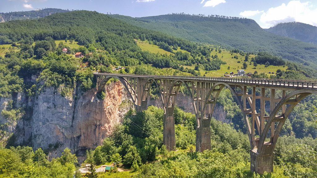 Montenegro Urlaub Tara Brücke