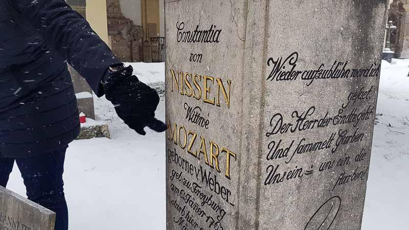 Grab Salzburg Constanze Mozart