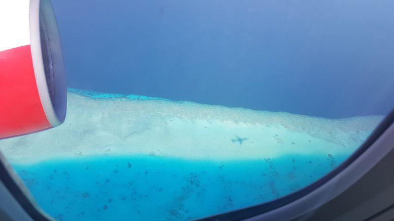 flugbegleiter flug malediven