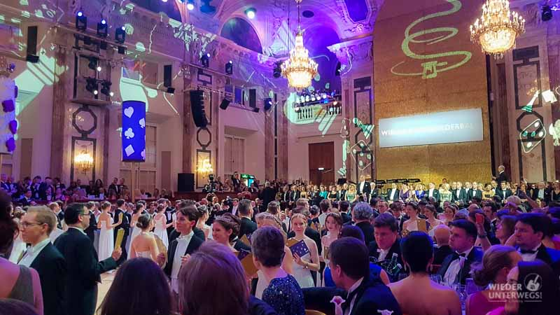 Festsaal Ballguide Hofburg Eröffnung