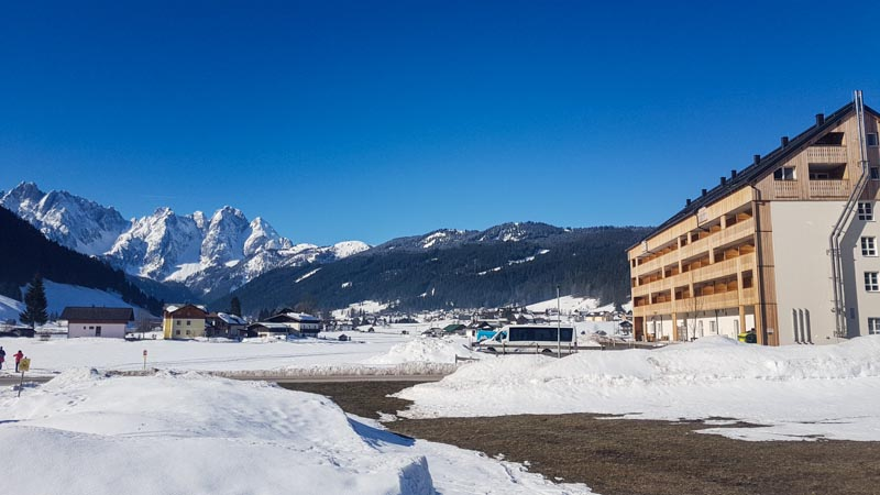 Gosau Krippenstein Hallstättersee Ausflug cooee hotel gosaukamm blick