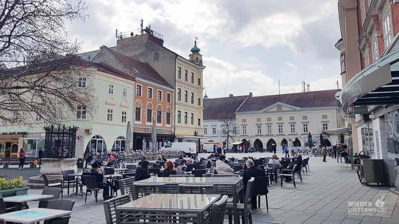 Wiener Neustadt Landesausstellung city hauptplatz