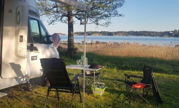 Camping am Meer in Nowegen