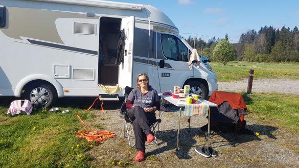 Camping Morgen Norwegen