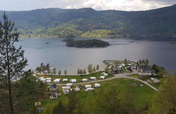 Campingplatz Südnorwegen