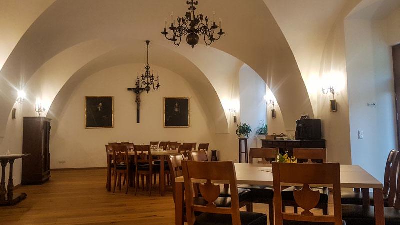 Gästespeisesaal stift lambach
