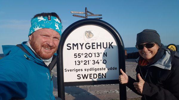 Parkplatz TT Line Smygehuk