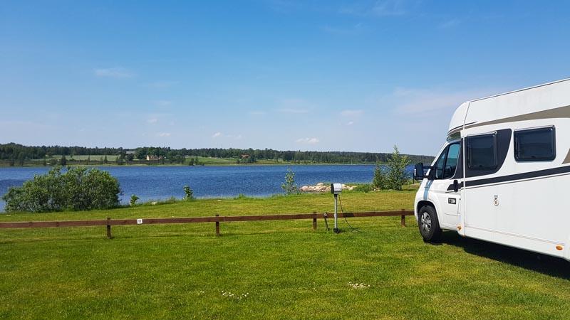 Unsere Campingplätze in Schweden: Der Süden.