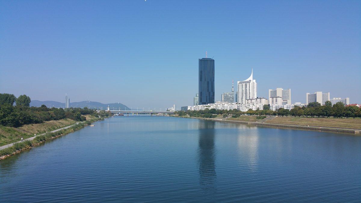 Donau heute donauinsel
