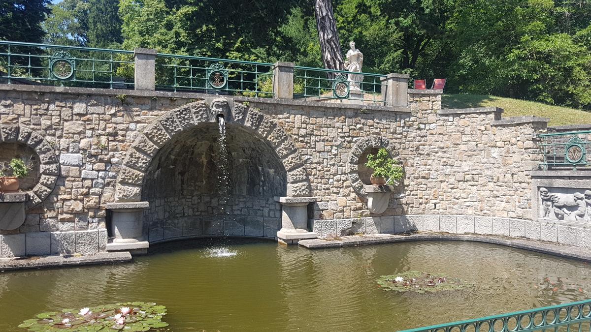 Im Park Schloss Artstetten