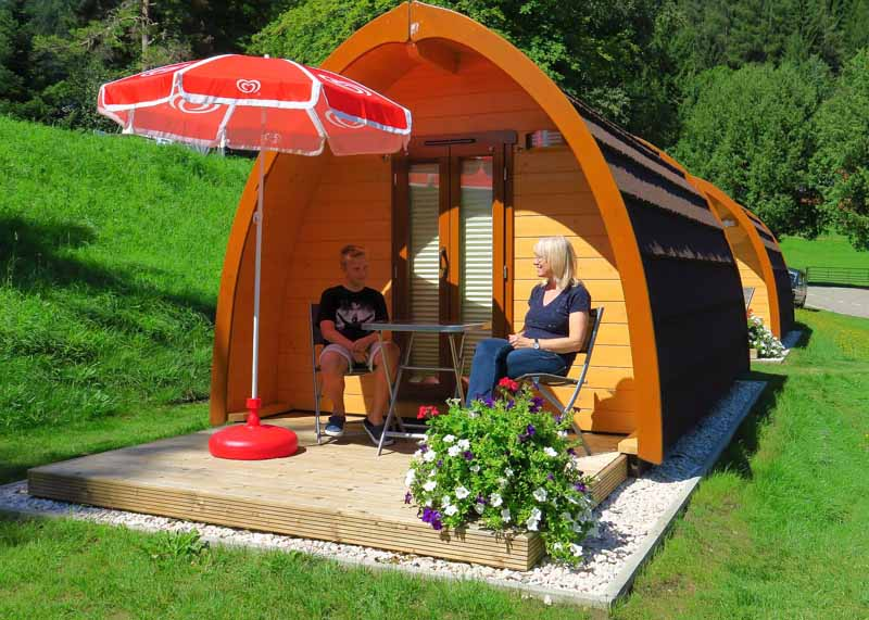 CampingPod Glamping Putterer See