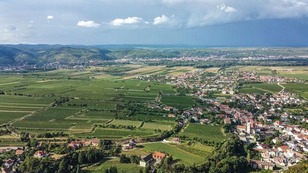 Donau Tal Ausblick