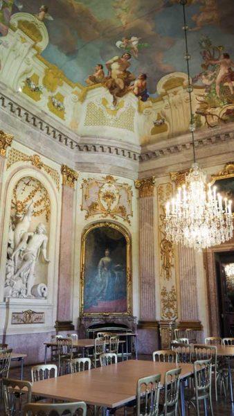 Innen Saal Schloss Eckartsau