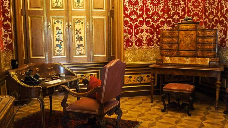 Schreibtisch Schloss Eckartsau