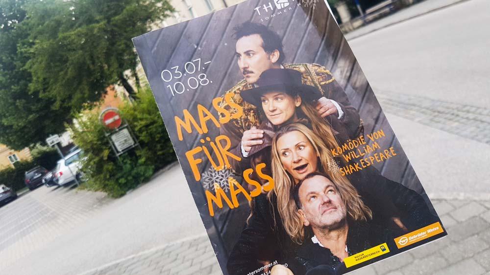Prospekt Theatersommer Haag