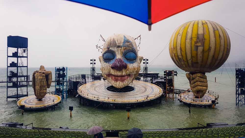 Bregenzer Festspiele Regenvorstellung