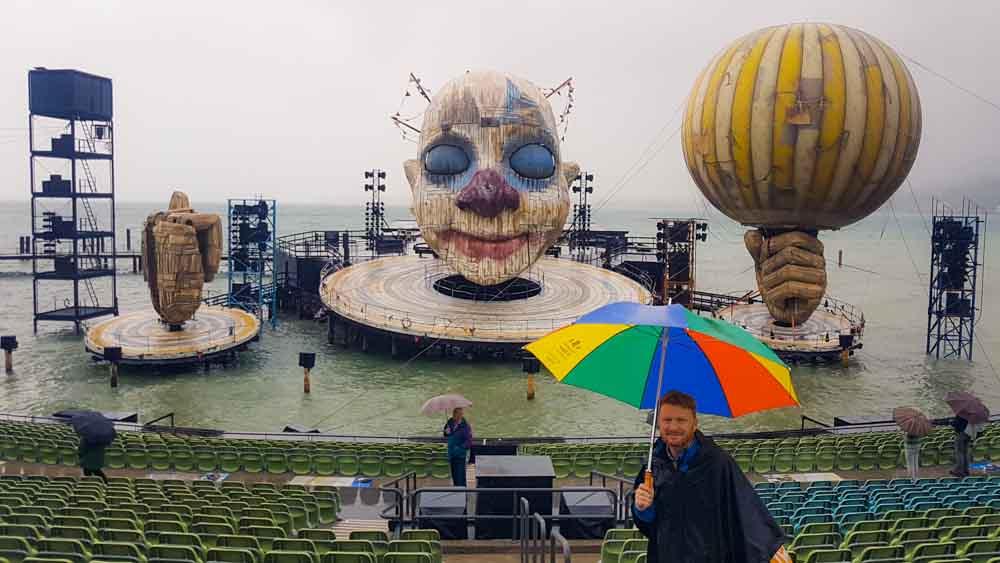 Rigoletto Bühne Bregenzer Festspiele