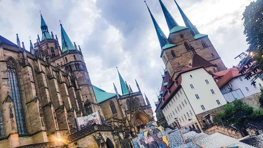 Erfurter Dom mit Musical