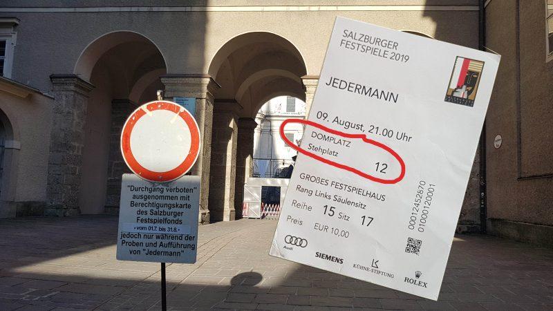 ticket jedermann stehplatz
