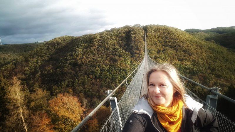 unterwegs rheinland pfalz hängebrücke