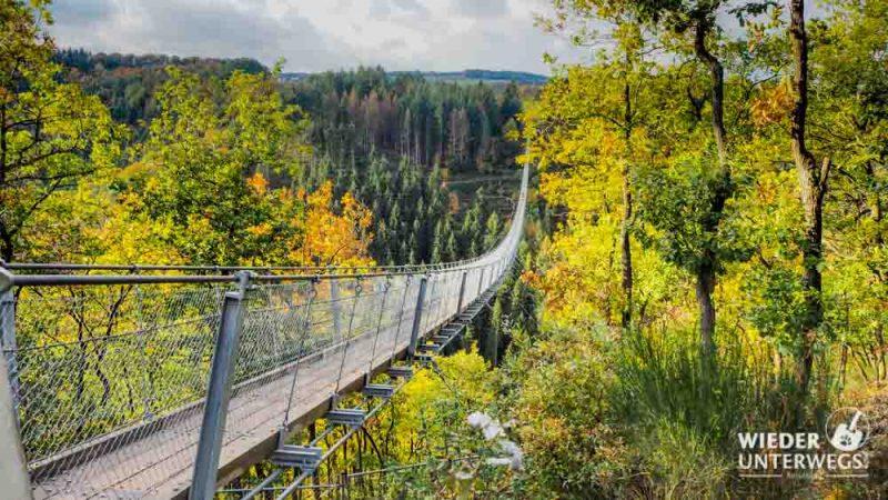 Geierlay schönste Hängebrücke Deutschlands im Hunsrück