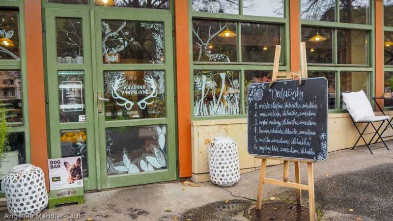 Kaffeehaus Kurhaus Tschechien Kurpark