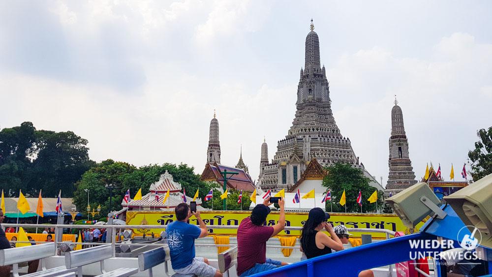 wat vom boot aus sehenswürdigkeiten bangkok