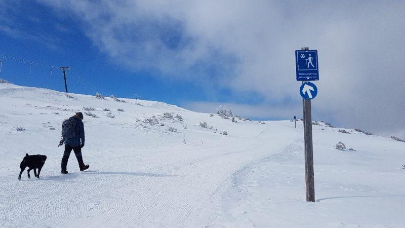 winterwanderweg tauplitz