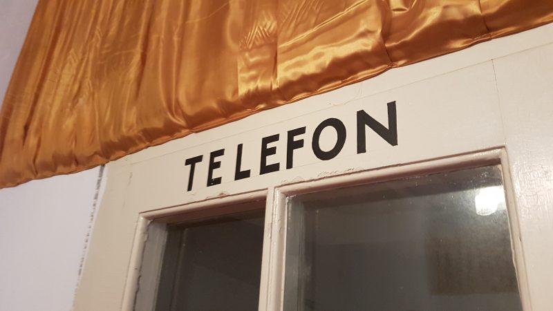 Telefonzelle Kurhaus Semmering.