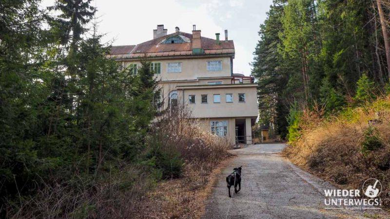 Hintenfassade Kurhaus Semmering