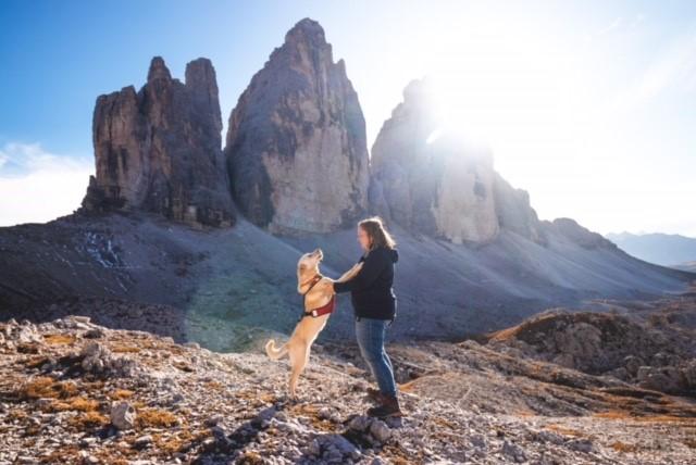 wandern mit hund tanja und sunny