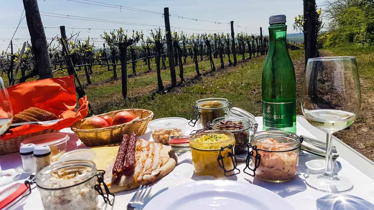 Picknick im Weinviertel
