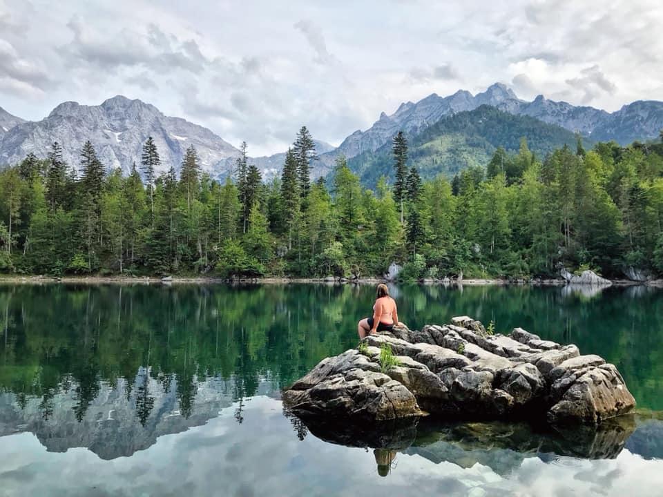 Ödsee wanderung und baden