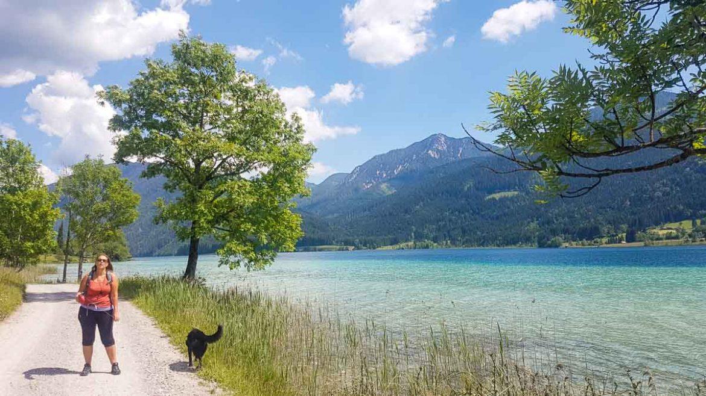 Wandern am Weissensee