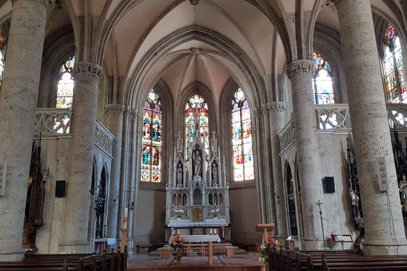 Kirche Bad Hall innen