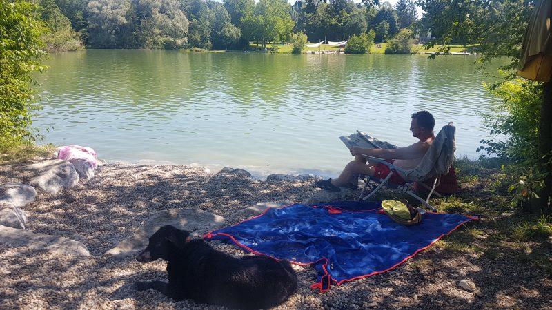 Hundezone Ebersdorfer See Baden