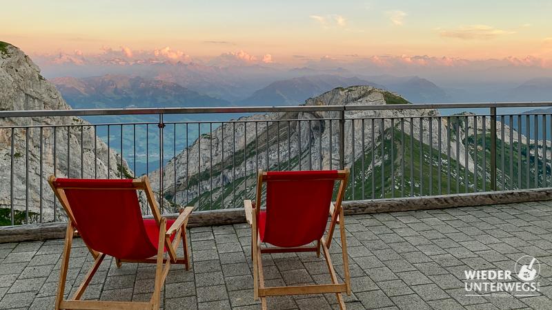 ausblick terrasse pilatus kulm hotel