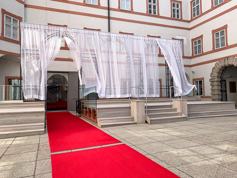 Jedermann Bühne Ausstellung salzburg museum