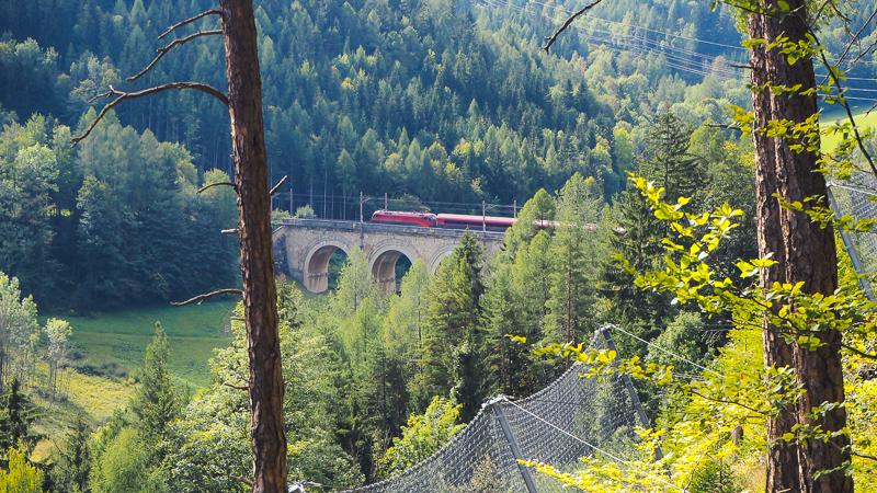 Viadukt Bahnwanderweg Semmering