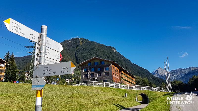 Explorer Hotel Gaschurn Radweg